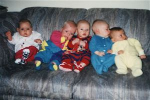 1992 - Five of the Babies