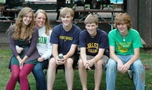 2010 - The Five Babies as College Freshman