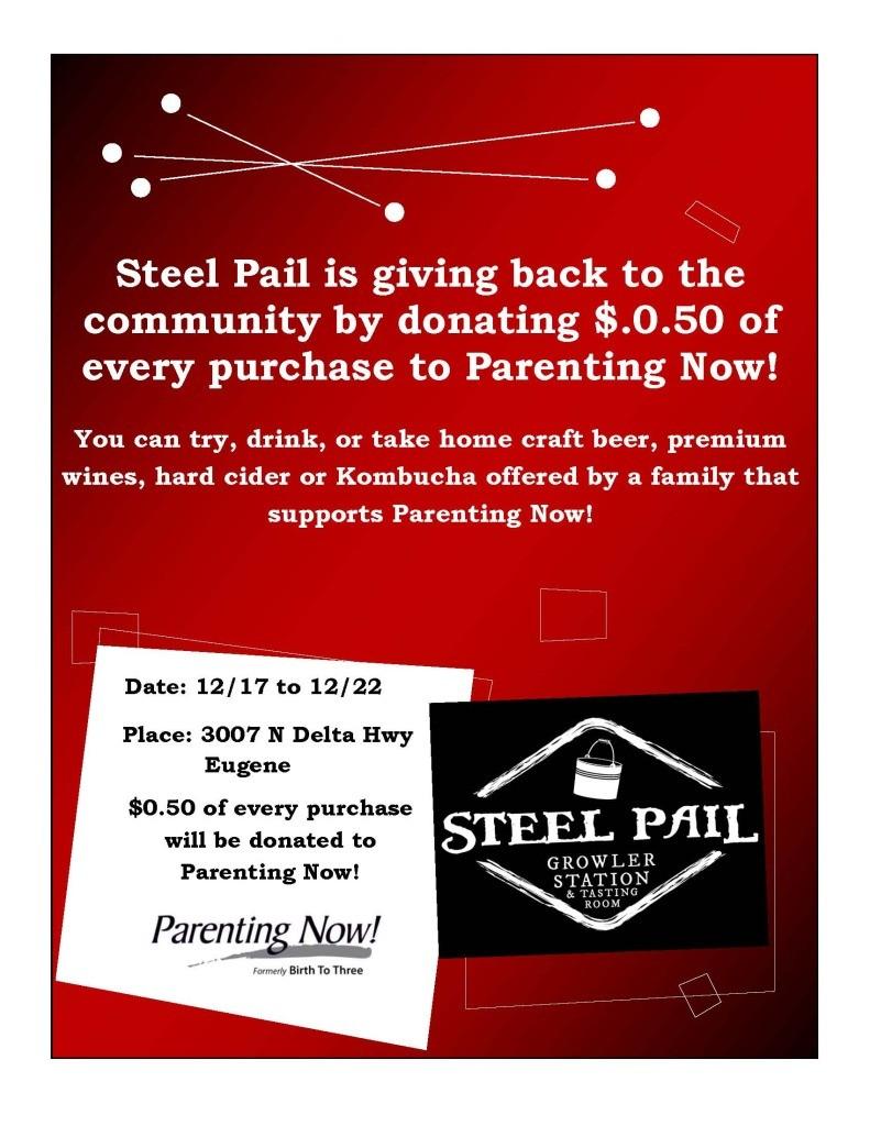 Steel Pail Fundraiser
