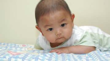 Tummy Time Helps Infants Develop