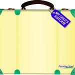 Suitcase Magnet