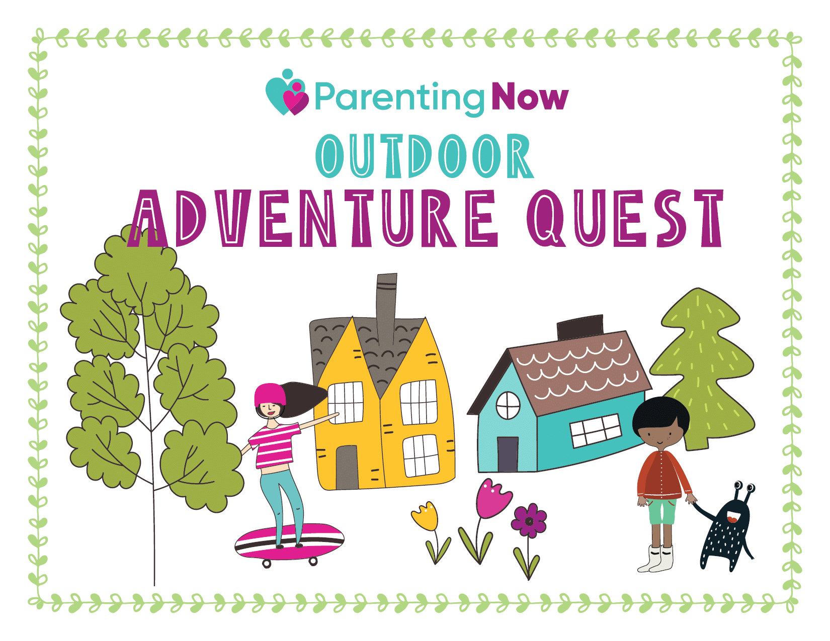 Outdoor Adventure Quest Title Image
